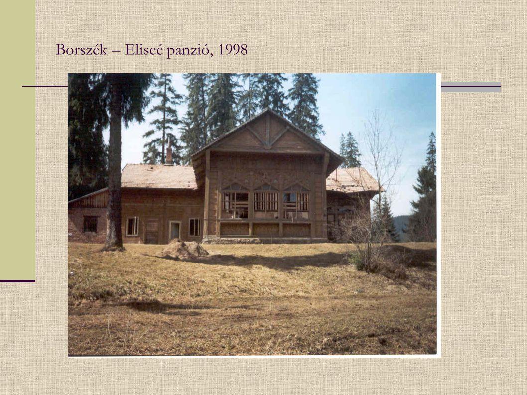 Borszék – Eliseé panzió, 1998