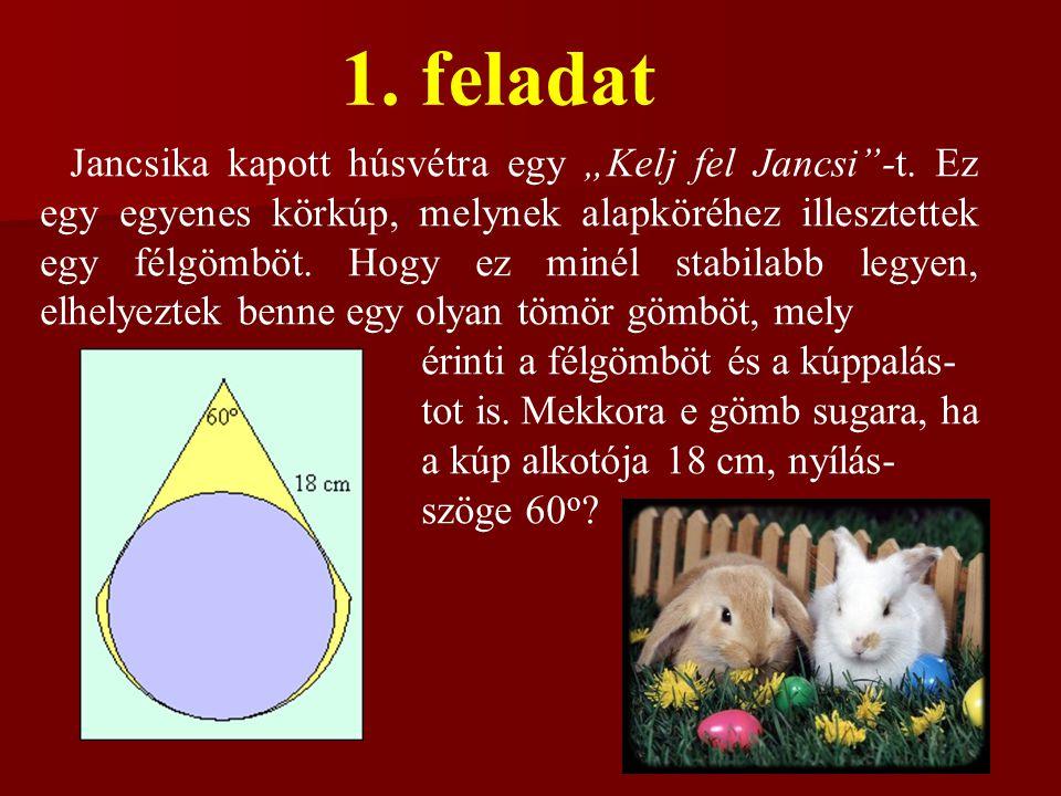 """1.feladat Jancsika kapott húsvétra egy """"Kelj fel Jancsi -t."""