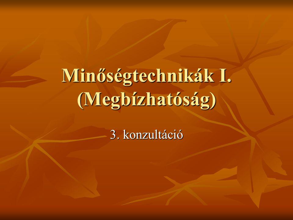 2009/2010 őszi félév J.Zs.Cs.2 Harmadik konzultáció Valószínűségszámítási alapfogalmak (egyéni feldolgozásra 3.-13.