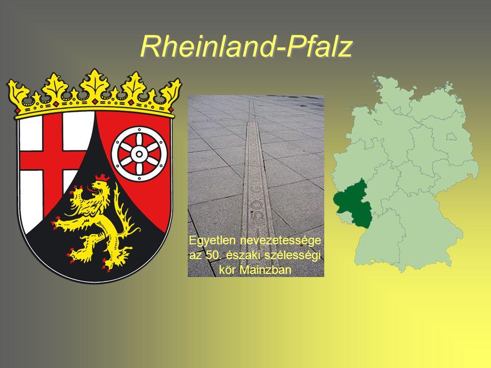 Rheinland-Pfalz Rheinland-Pfalz Hessen 1949 –ben csatlakozott a szövetséghez.