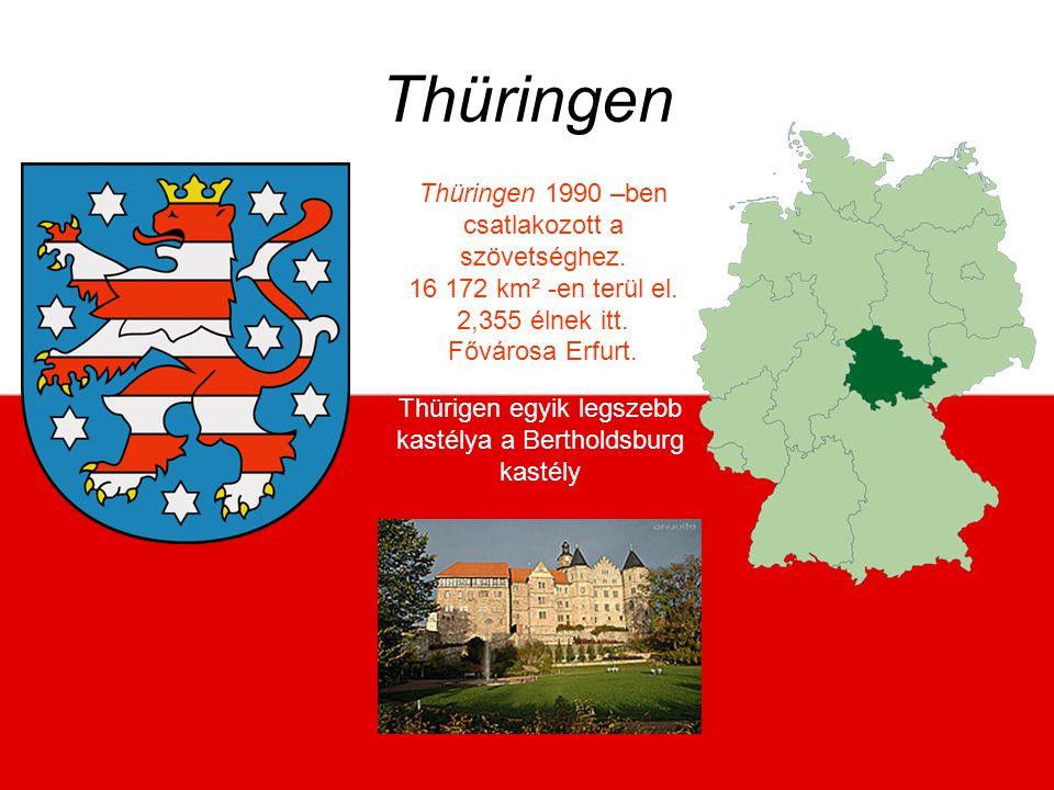 Thüringen Thüringen 1990 –ben csatlakozott a szövetséghez.