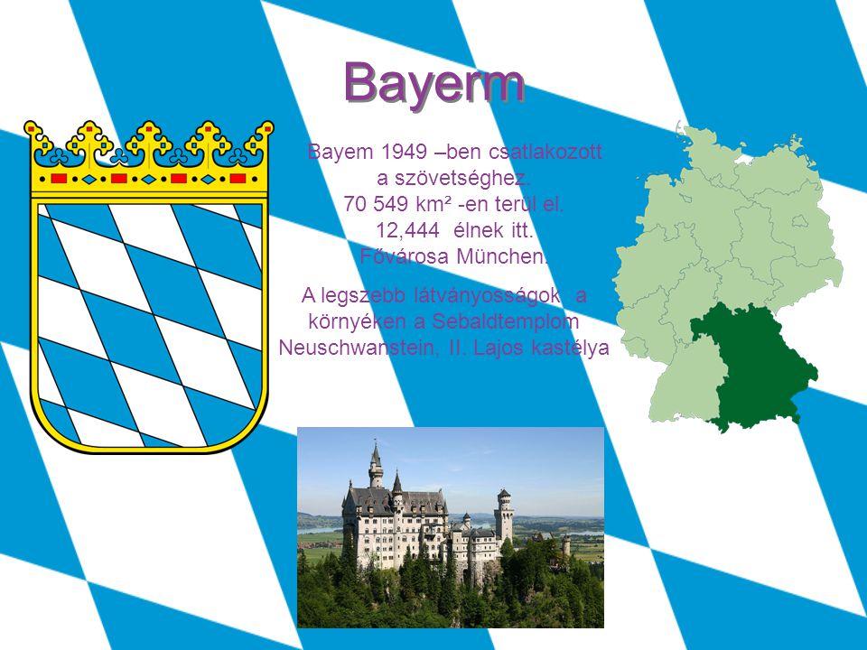 Berlin 1990 –ben csatlakozott a szövetséghez.892 km² -en terül el.
