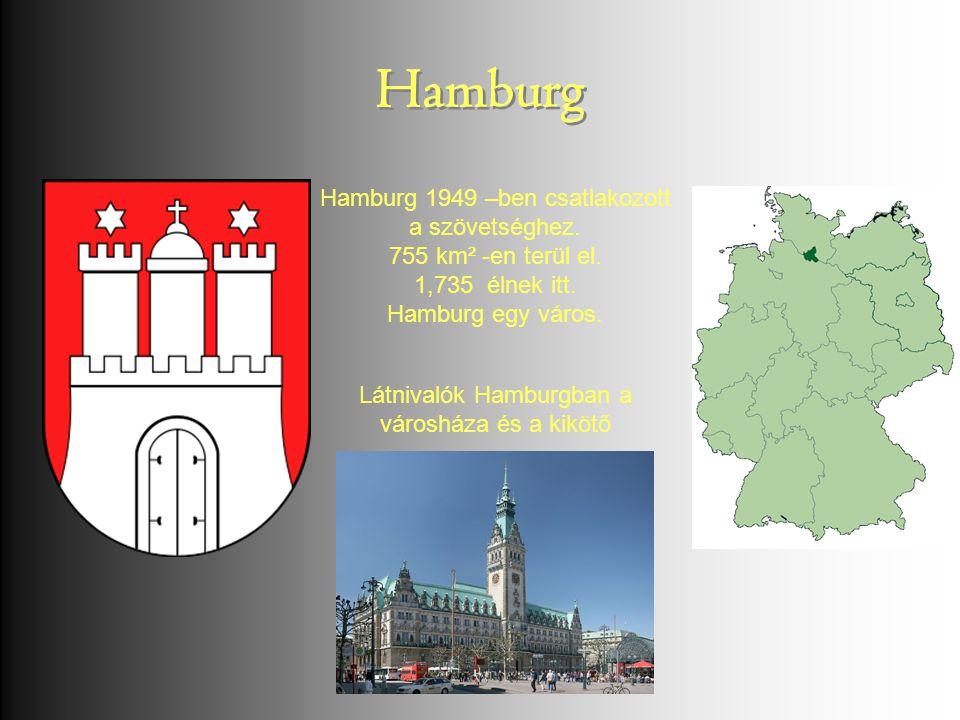 Hamburg Hamburg Hamburg 1949 –ben csatlakozott a szövetséghez.