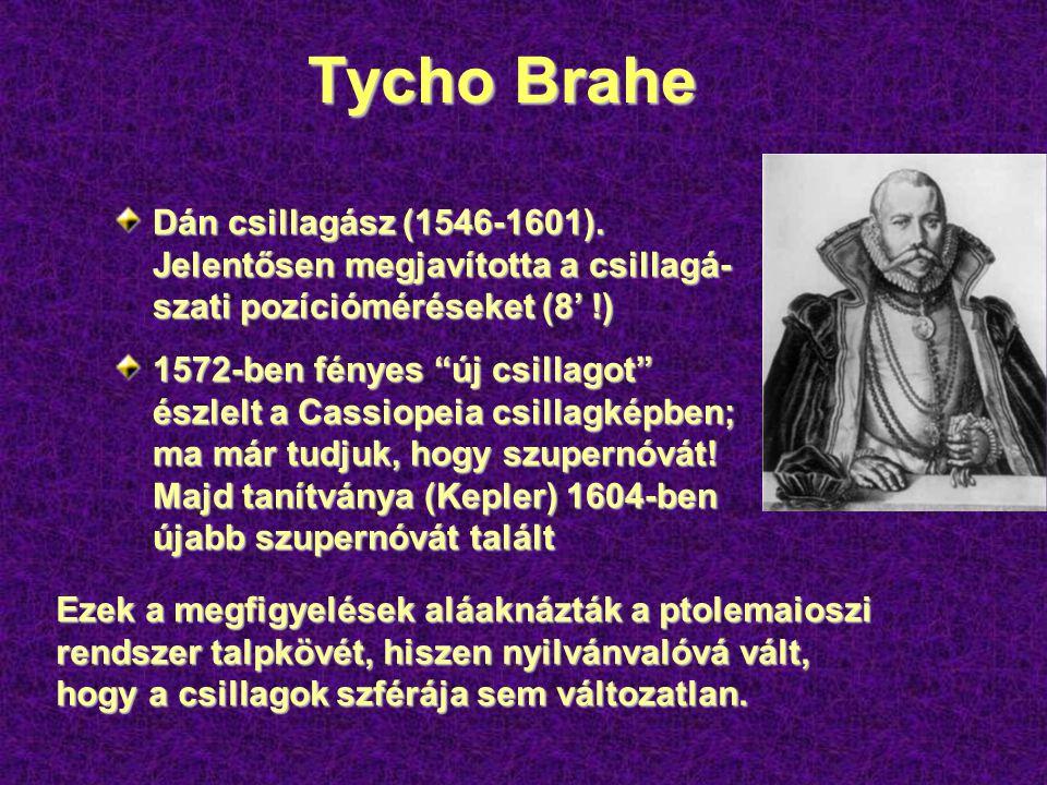 Tycho Brahe Dán csillagász (1546-1601).