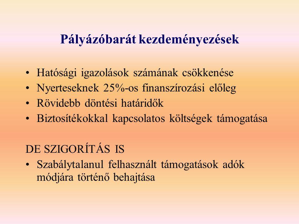 Új kormányzati struktúra 4 lábú SZMM (szociális, esélyegyenlőségi, foglalkoztatási és képzési, társadalmi párbeszéd) 4 nagy, tiszta profilú háttérintézmény (FSZH, SZMI, ESZA kht, NSZFI) 4 nagy reform (nyugdíj, szociális és munkaügyi ellátás integrációja, integrált regionális szak- és felnőttképzési rendszer, fogyasztóvédelem)