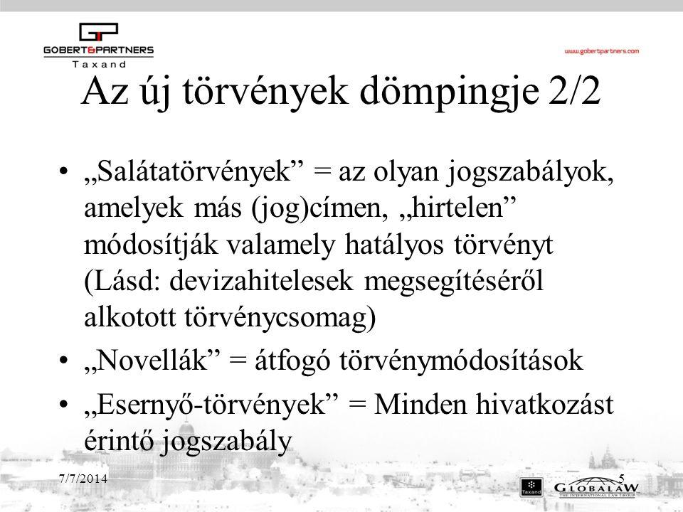 7/7/201416 Az Alaptörvény 2/1 XVII.
