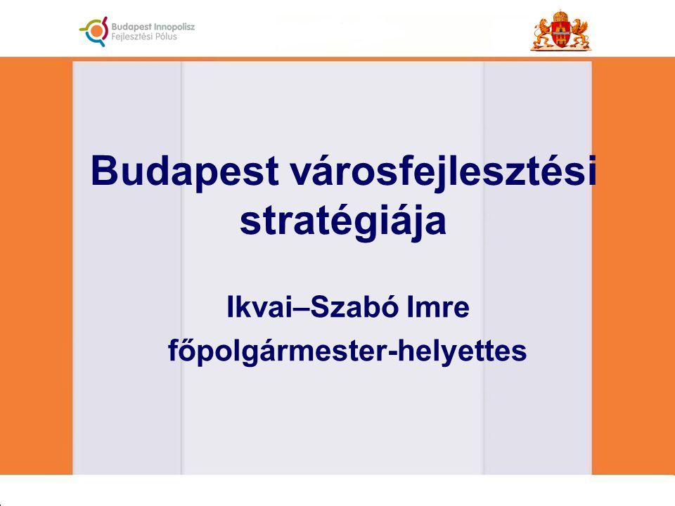 Budapest városfejlesztési stratégiája Ikvai–Szabó Imre főpolgármester-helyettes