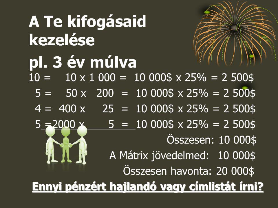 10 = 10 x 1 000 = 10 000 $ x 25% = 2 500$ 5 = 50 x 200 = 10 000 $ x 25% = 2 500$ 4 = 400 x 25 = 10 000 $ x 25% = 2 500$ 5 =2000 x 5 = 10 000 $ x 25% =