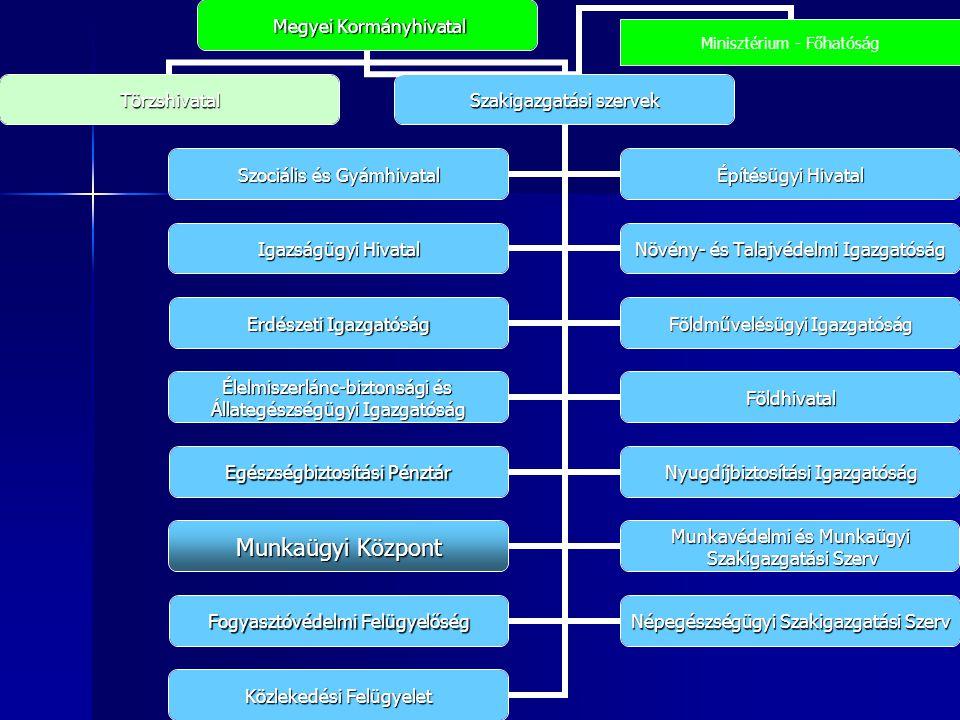 Megyei Kormányhivatal Megyei Kormányhivatal Törzshivatal Szakigazgatásiszervek Szakigazgatási szervek Szociális és Gyámhivatal Építésügyi Hivatal Igaz