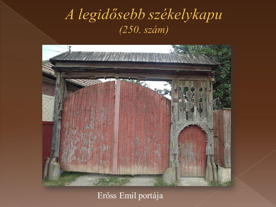 Erőss Emil portája