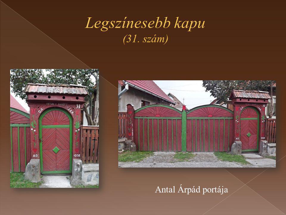 Antal Árpád portája