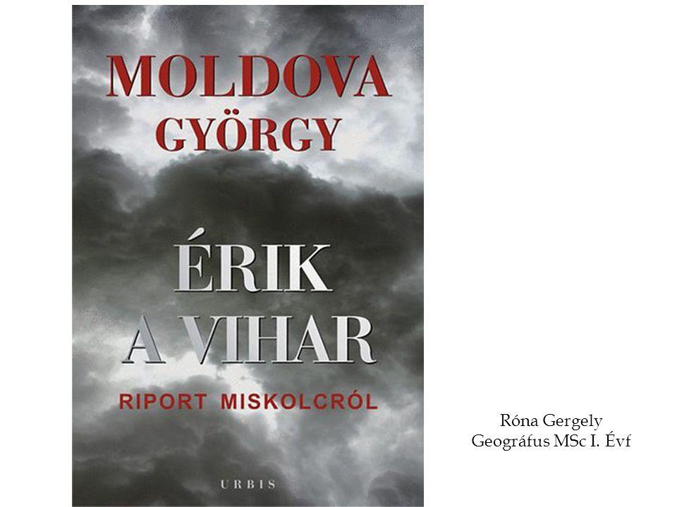 Róna Gergely Geográfus MSc I. Évf
