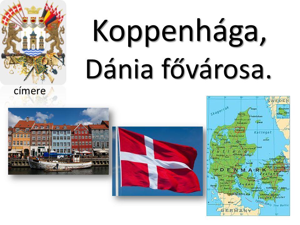 Koppenhága, Dánia fővárosa. címere