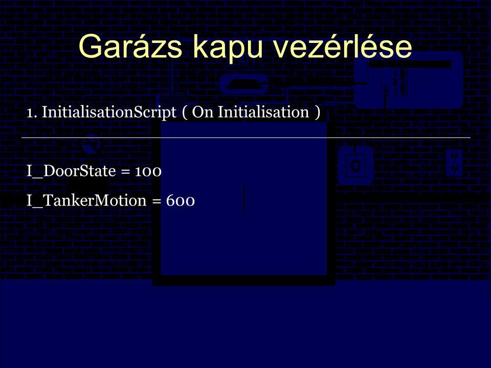 Garázs kapu vezérlése 1.