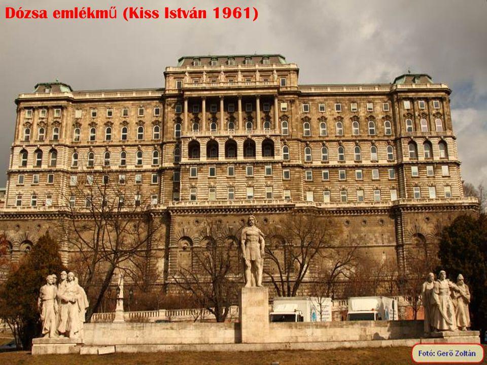 Dózsa emlékm ű (Kiss István 1961)
