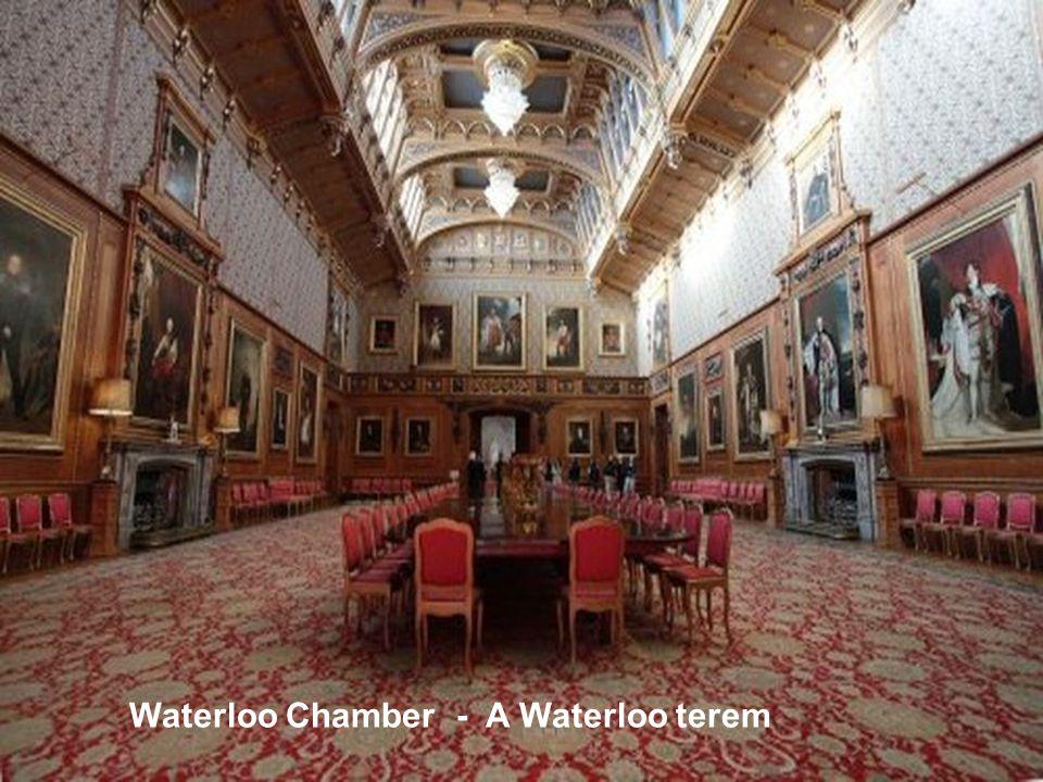 Royal bedchamber - Királyi hálószoba