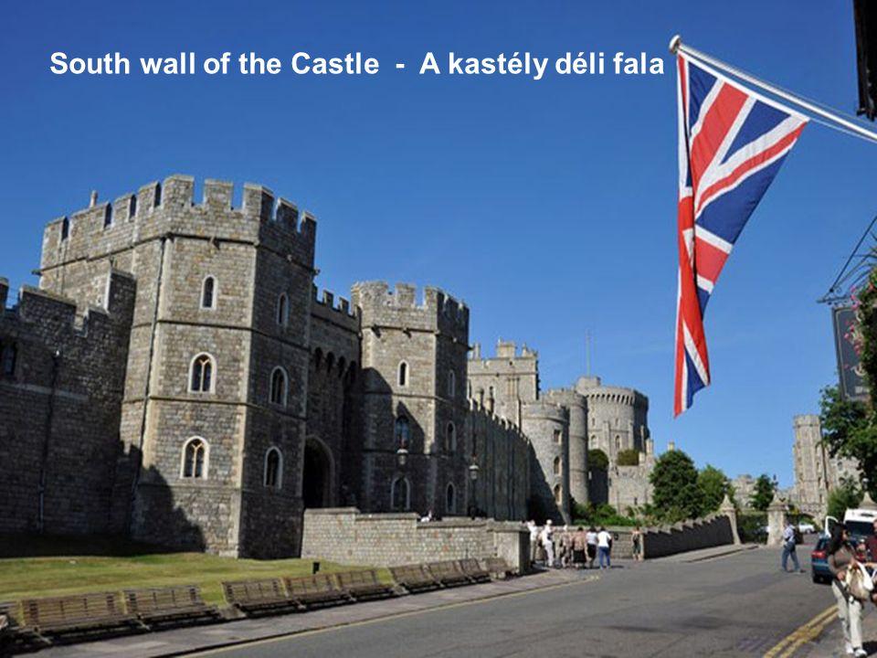 South wall of the Castle - A kastély déli fala