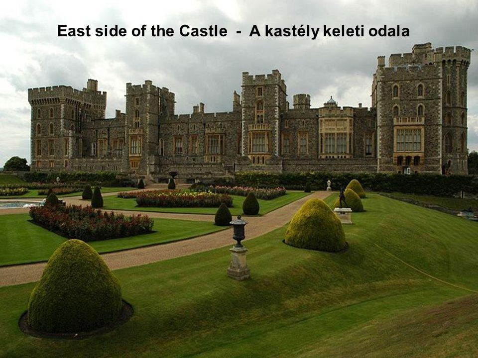East side of the Castle - A kastély keleti odala