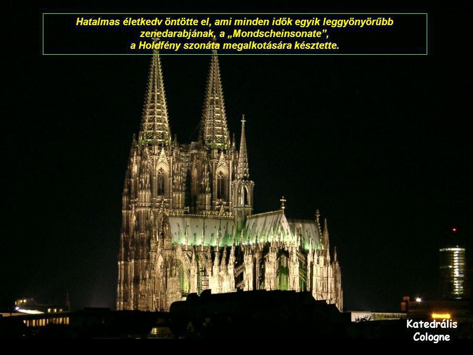 Miasszonyunk temploma Prága Ezt hallva Beethoven könnyekben tört ki: De hát ő mégiscsak lát.