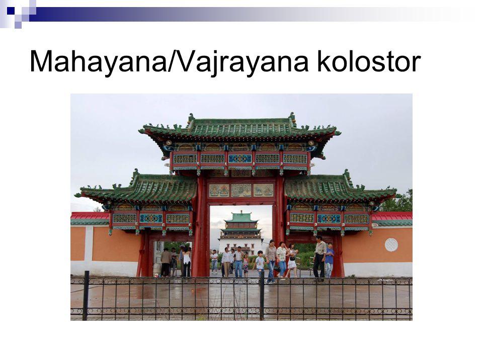 Mahayana/Vajrayana kolostor