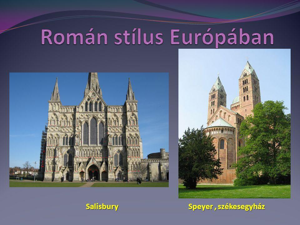 Speyer, székesegyház Salisbury