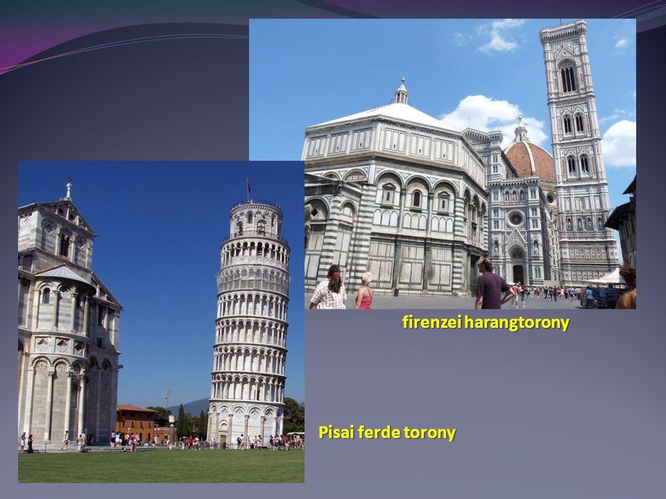 firenzei harangtorony Pisai ferde torony