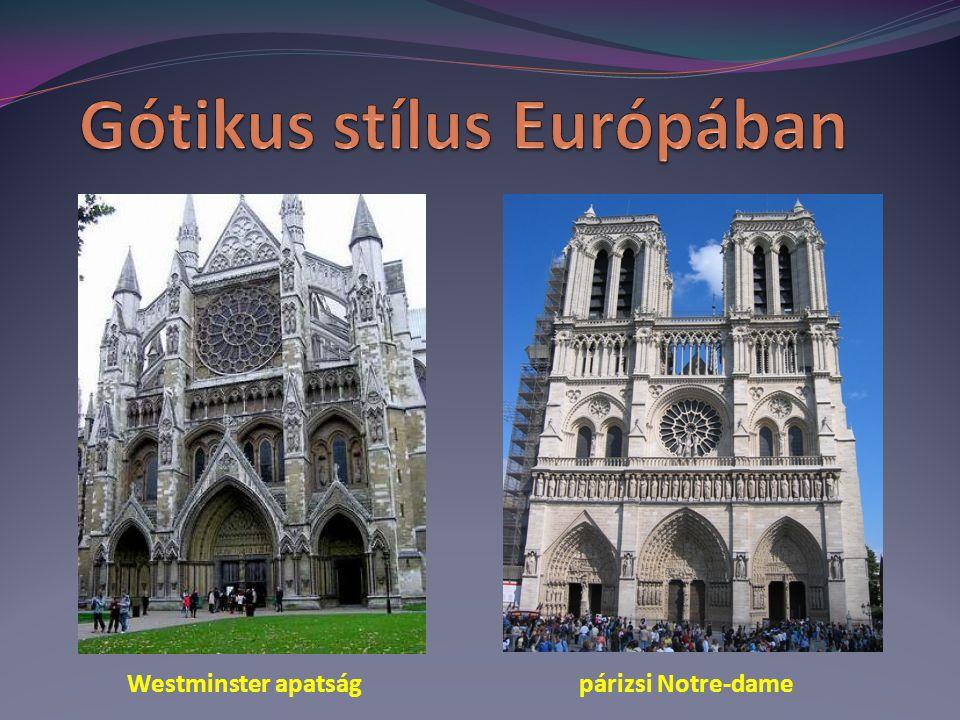 Westminster apatság párizsi Notre-dame