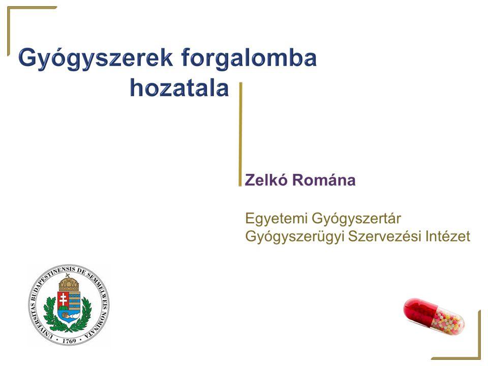 Decentralizált eljárás: új gyógyszerre A referencia-tagállamban benyújtják Itt nemzeti forg.