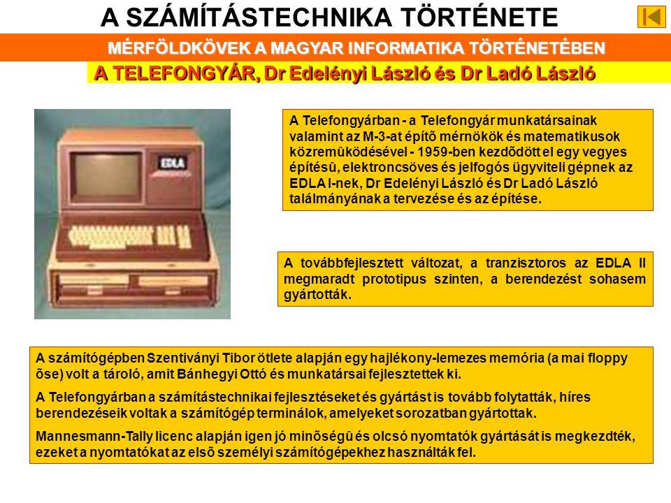 KALMÁR LÁSZLÓ (1905-1976) A SZÁMÍTÁSTECHNIKA TÖRTÉNETE MÉRFÖLDKÖVEK A MAGYAR INFORMATIKA TÖRTÉNETÉBEN Kalmár László, a szegedi JATE matematikai logika