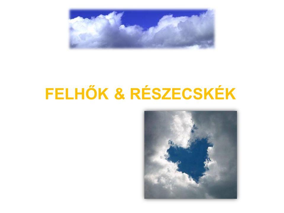 FELHŐK & RÉSZECSKÉK