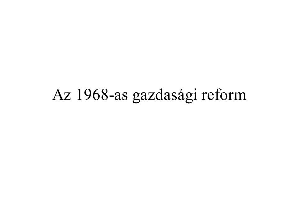 Az 1968-as gazdasági reform