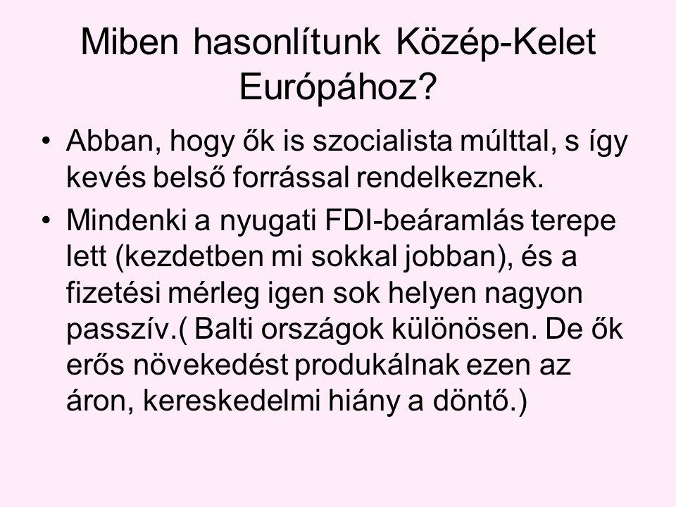 Miben hasonlítunk Közép-Kelet Európához.