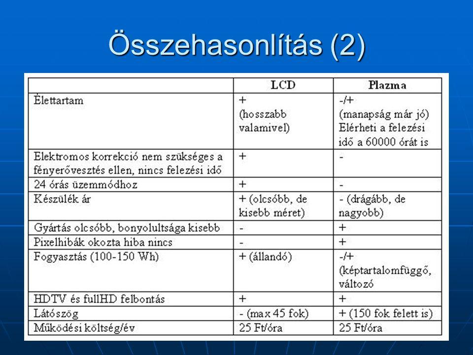 Összehasonlítás (2)