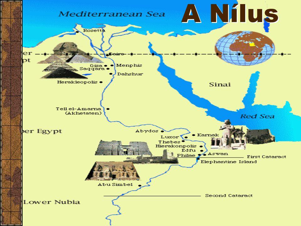 """Egyiptomi civilizáció Az egyiptomi civilizáció röviddel a mezopotámiai után keletkezett. A Nílus folyó mentén volt a birodalom (""""Egyiptom a Nílus aján"""