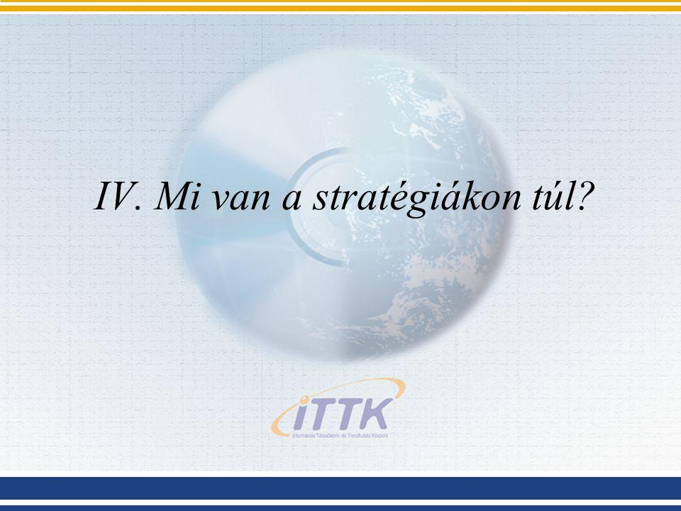 IV. Mi van a stratégiákon túl?