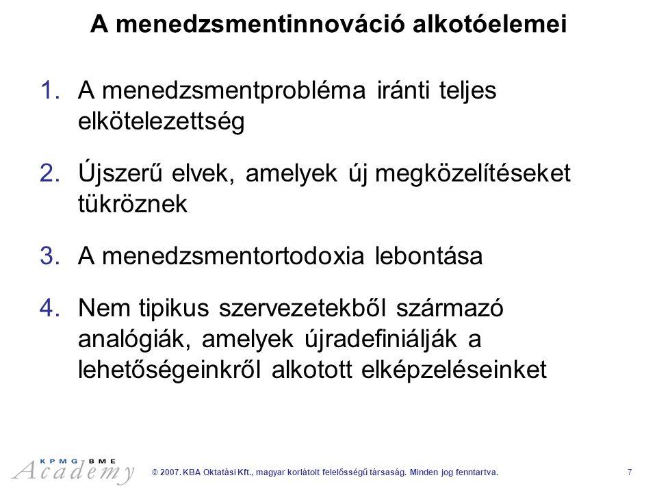 KPMG-BME Akadémia AL-1068/01-0469-04/EDU_V/1_v10 KPMG-BME Akadémia www.kpmg-bme-akademia.hu academy@kpmg.hu