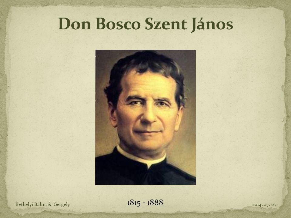 Szegény családban született 1815-ben az olaszországi Castelnuovo d Astiban.