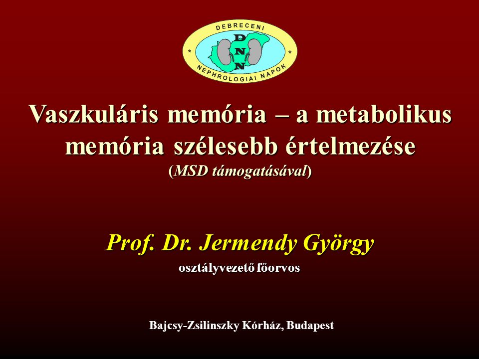DCCT-EDIC: a GFR alakulása N Engl J Med 365: 2366-2376, 2011.