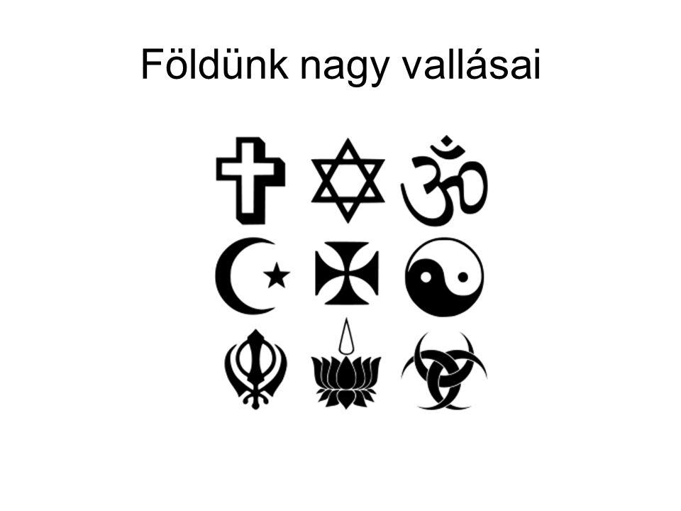 Monoteista vallások Monoteista (egyistenhívő vallás) Zsidó vallás (judaizmus) Kereszténység Iszlám (muszlim vallás)