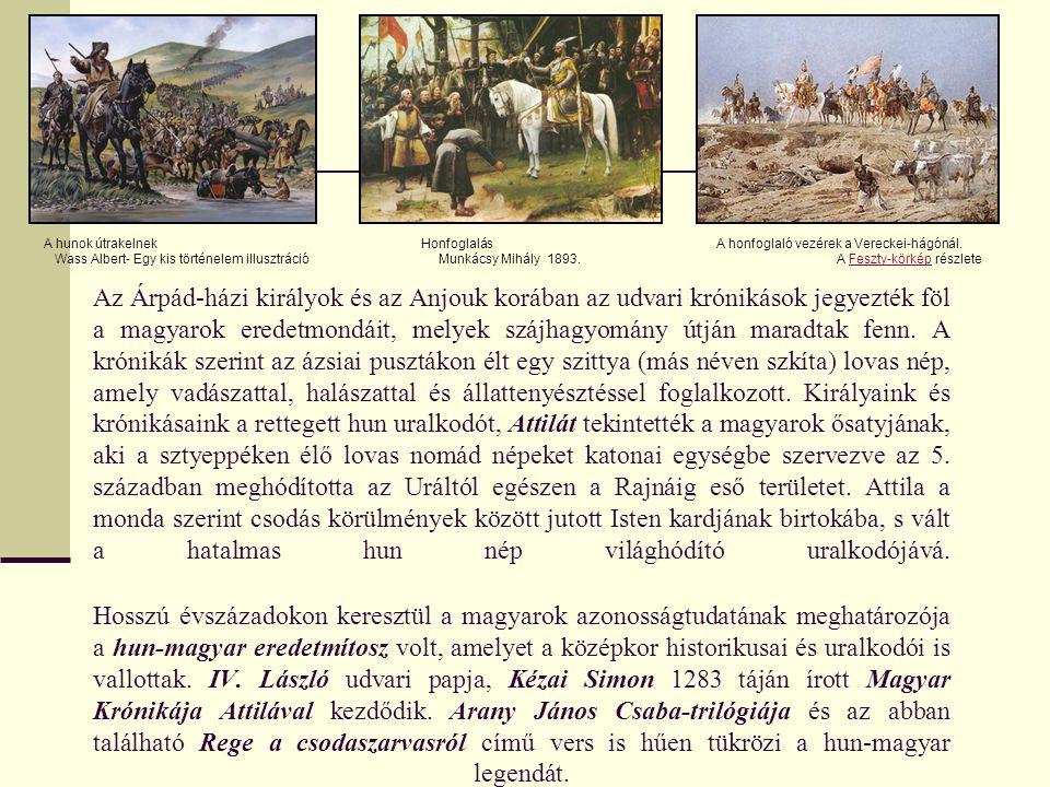 Arany János- Rege a Csodaszarvasról /Buda halála- részlet/