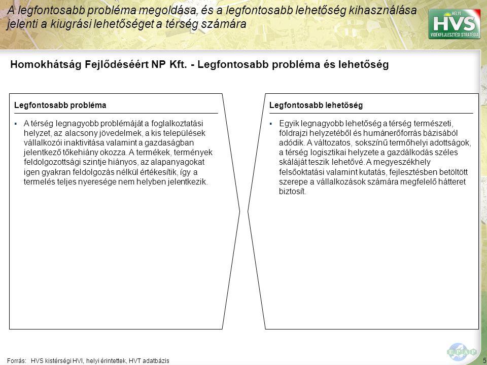 5 Homokhátság Fejlődéséért NP Kft.