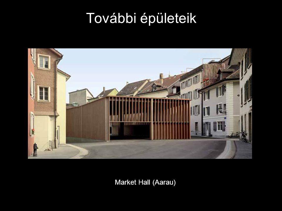 További épületeik Market Hall (Aarau)
