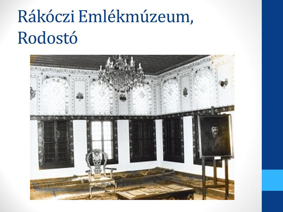 Rákóczi Emlékmúzeum, Rodostó