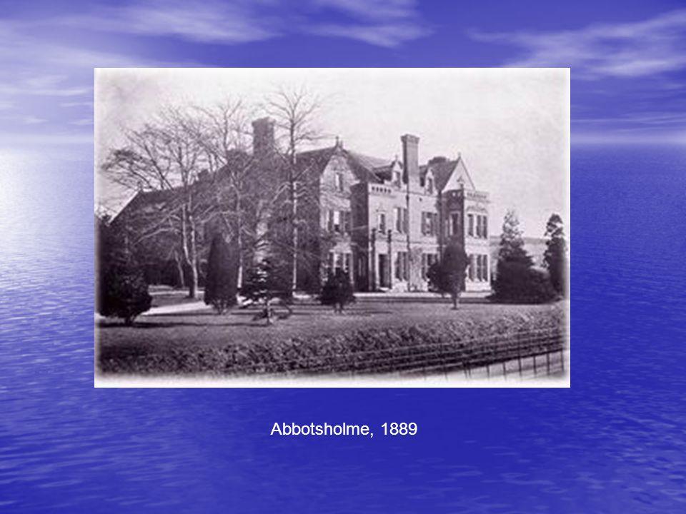 Abbotsholme, 1889
