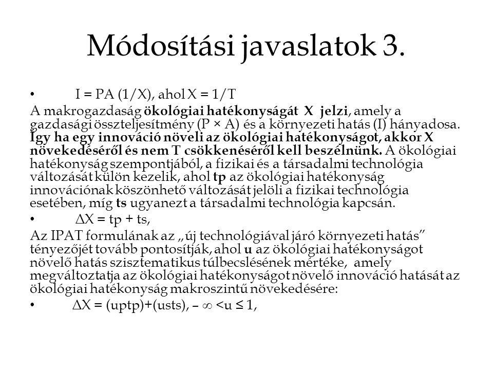 Módosítási javaslatok 3.