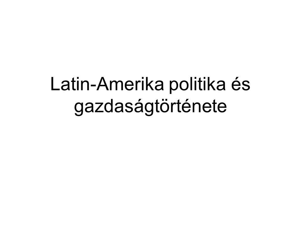Általános bevezetés Latin-Amerika fogalma – III.Napóleon külpolitikája XIX.