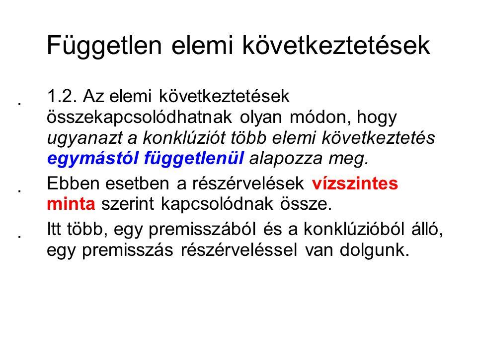"""Vízszintes minta """"(1)A hallgatók számára fontos az idegen nyelv."""