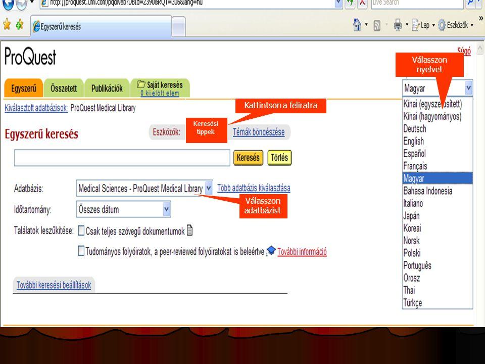 Ugrás a kiválasztott témakörhöz Segítség Kattintson a kiválasztott RSS tartalomra