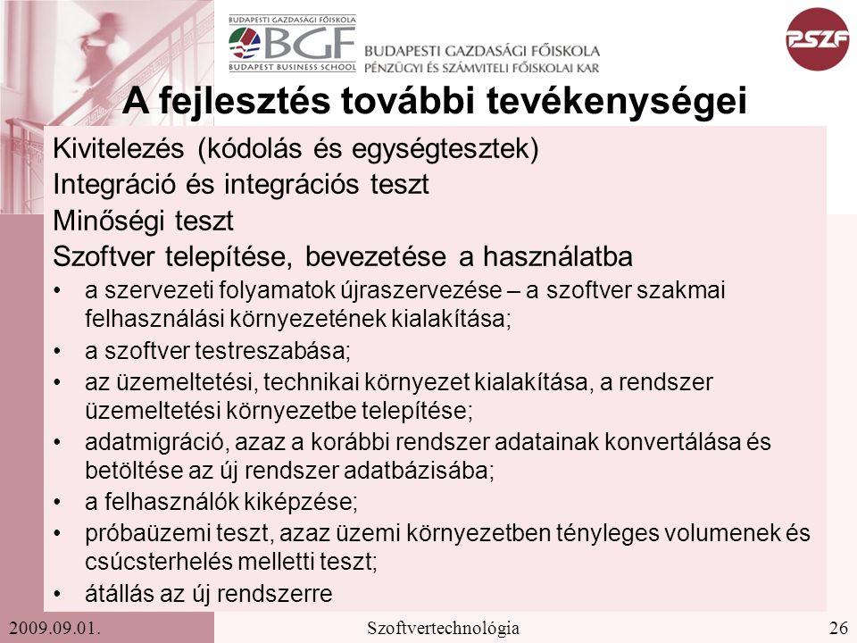26Szoftvertechnológia2009.09.01.