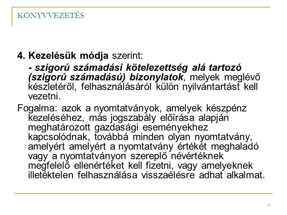 28 KÖNYVVEZETÉS 3.